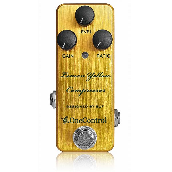 One Control(ワンコントロール) / Lemon Yellow Compressor - コンプレッサー -《ギターエフェクター》