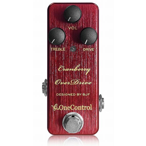 One Control(ワンコントロール) / Cranberry OverDrive  - オーバードライブ -《ギタエフェクター》