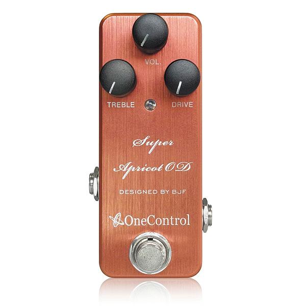 One Control(ワンコントロール) / Super Apricot OD - オーバードライブ -《ギターエフェクター》