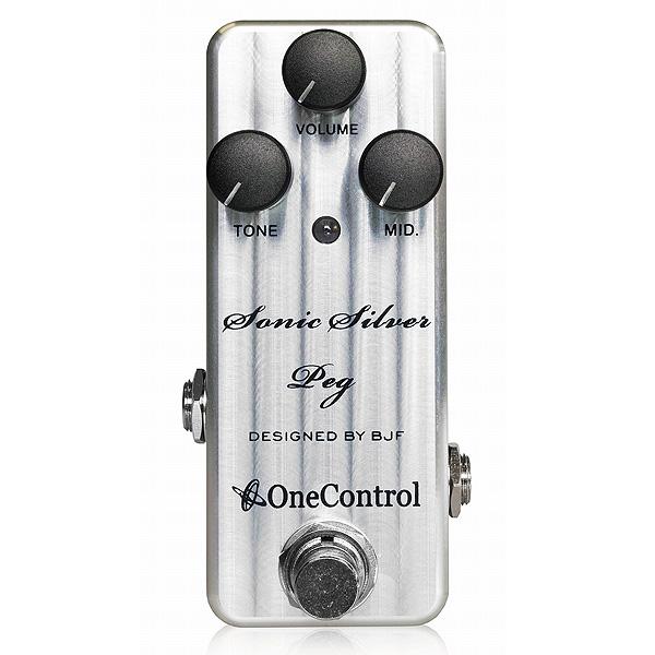 One Control(ワンコントロール) / Sonic Silver Peg - アンプシミュレーター -《ベースエフェクター》