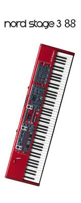 Clavia(クラヴィア) / Nord Stage 3 88 / 88鍵盤 シンセサイザー  2大特典セット