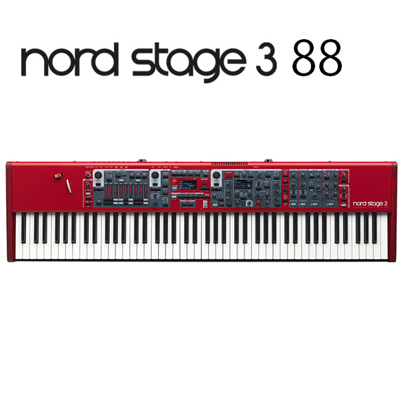 Clavia(クラヴィア) / Nord Stage 3 88 - 88鍵盤 シンセサイザー -