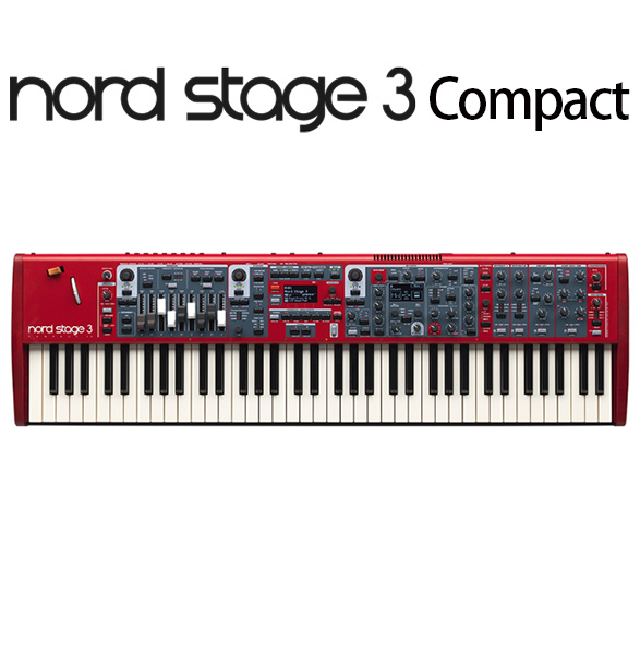 Clavia(クラヴィア) / Nord Stage 3 Compact - 73鍵盤 シンセサイザー -
