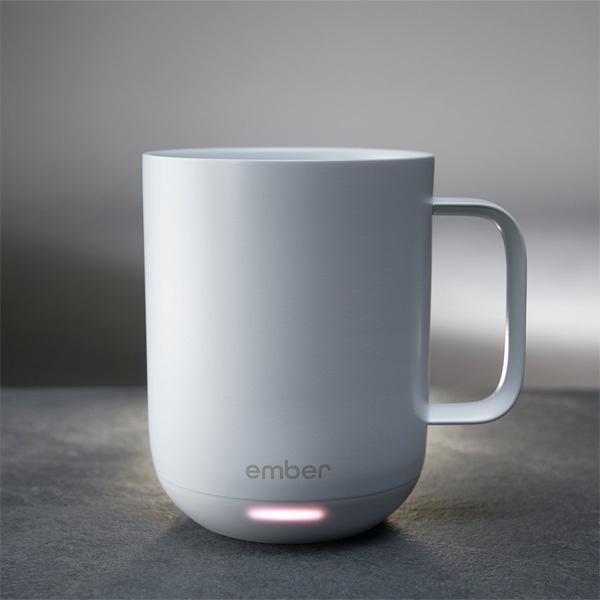 Ember Ceramic Mug - 温度調節可能 サーモスターター -