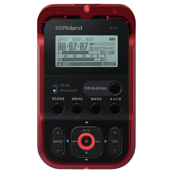 Roland(ローランド) / R-07(RED)- ハイレゾ・オーディオ・レコーダー - 【次回納期未定】