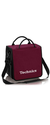 Technics(テクニクス) / BackBag (Winered/White) 【レコード約60枚収納可】 - レコードバッグ -