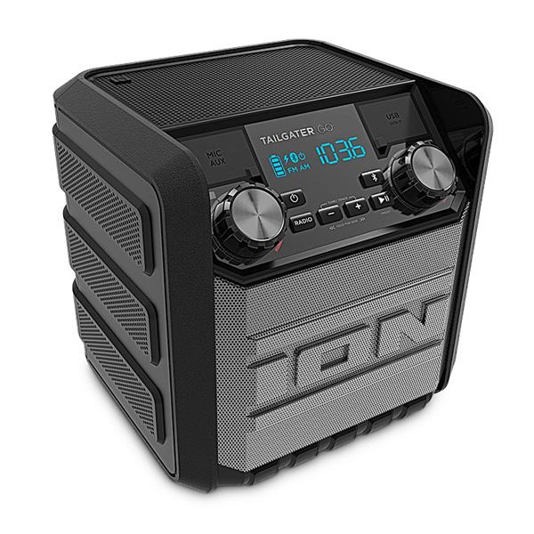 Ion(アイオン) / Tailgater GO ( IA-SRI-015 ) - IPX4 防水ワイヤレススピーカ -