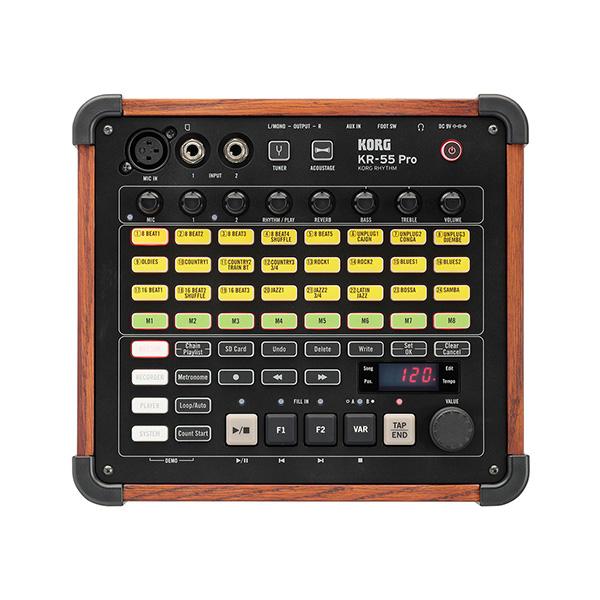 Korg(コルグ) / KR-55 Pro - リズムマシン - 「 ミキサー / レコーダー 」【発売日:4月8日(日)】