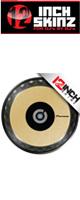 12inch SKINZ / Pioneer CDJ Platter Skinz (PAIR) Metallics (Brushed Gold) 【CDJ-850 / CDJ-900NXS / CDJ-1000 / CDJ-2000NXS2 / XDJ-1000 / DDJ-SZ プラッター用スキン】