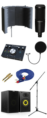 【高音質レコーディングセット】audio-technica AT2020 7大特典セット