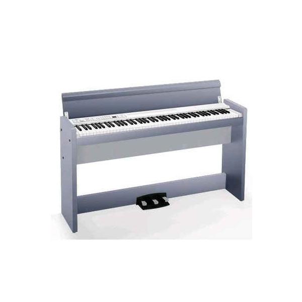 【限定1台】Korg(コルグ) / LP-380-CP073 (シルバー ) - デジタルピアノ - 【美品/アウトレット品/メーカー保証付】