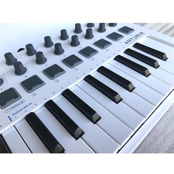 【限定2台】Arturia(アートリア) / MINILAB MKII - MIDIコントローラー - 【ソフトウェアが3つもバンドル】【美品/アウトレット品/メーカー保証付】