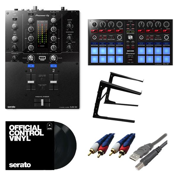 Pioneer(パイオニア) / DJM-S3 & DDJ-SP1 & Seratoコントロールバイナルセット