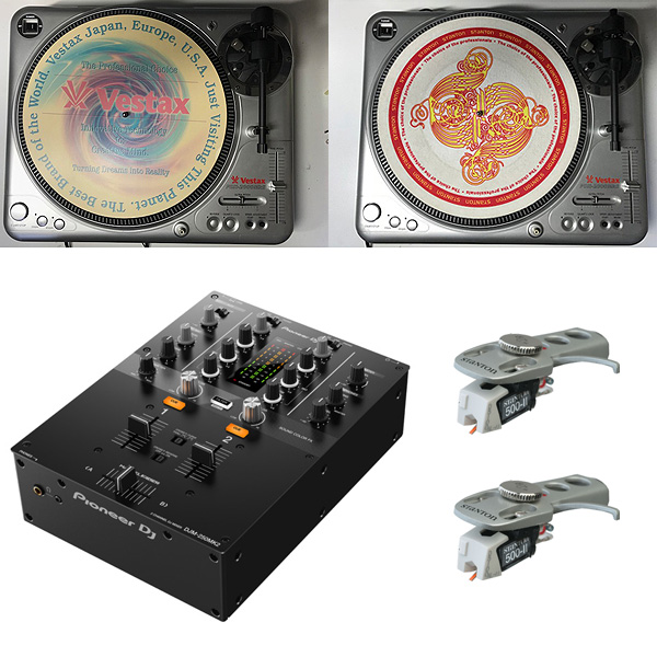 【限定1台】DJM-250MK2 / PDX-2000mk2(中古) DVSオススメセット