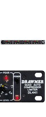 ■ご予約受付■ DRAWMER(ドローマー) / DL441 - 1Uサイズ 4chコンプレッサー/リミッター - 【受注生産】