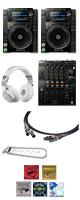 CDJ-2000NXS2 / DJM-900NXS2 【+500円 Pioneer高級ケーブルセット】 7大特典セット