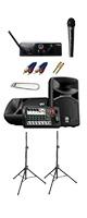 【ワイヤレスマイク1本PAセット】YAMAHA(ヤマハ) STAGEPAS_400BT / WMS40 PRO MINI VOCAL SET 《講演 ・イベントに最適》