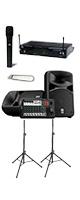 【選べるワイヤレスマイクセット】YAMAHA(ヤマハ) STAGEPAS_600BT / K.W.Sワイヤレスシステム 《講演 ・イベントに最適》