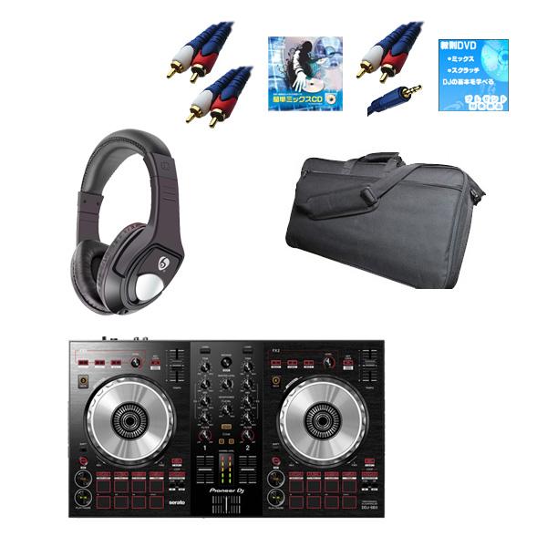 Pioneer(パイオニア) / DDJ-SB3 激安初心者モバイルオススメCセット  (Serato DJ Lite 無償)