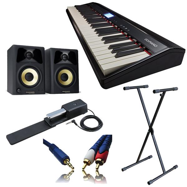 【モニターセットC】Roland(ローランド) / GO:PIANO (GO-61P) / studio scope4 - エントリーキーボード - 3大特典セット