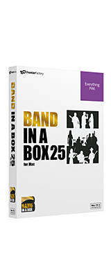 E-frontier(イーフロンティア) / Band-in-a-Box 25 for Mac EverythingPAK - 自動作曲 / 伴奏作成ソフト - 1大特典セット