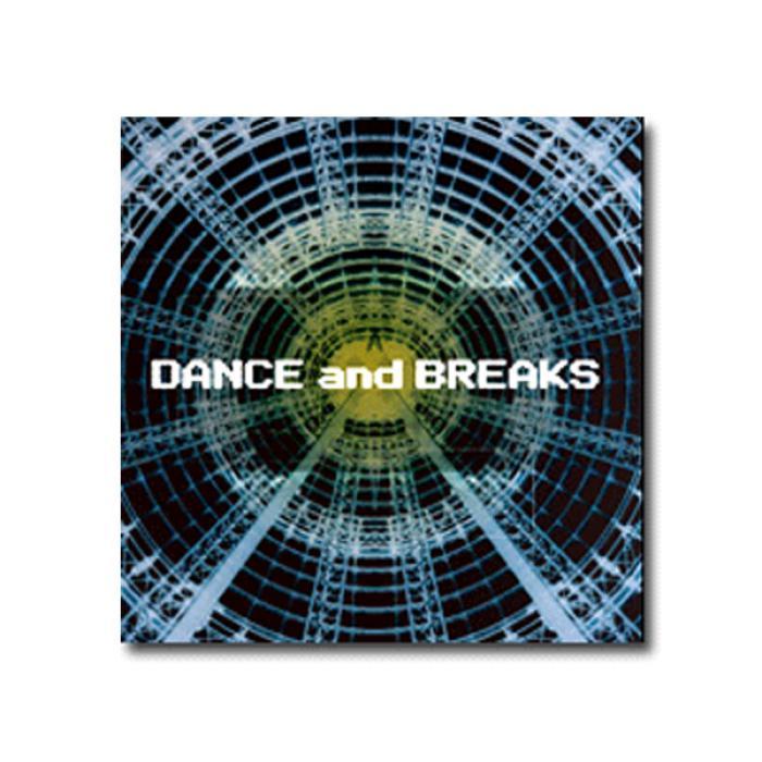 3枚使い・練習に最適 ハウス・テクノ向け Dance & Breaks [CD]
