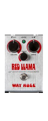 Way Huge(ウェイヒュージ) / RED LLAMA 25TH ANNIV. WHE206 - オーバードライブ - 《ギターエフェクター》 1大特典セット