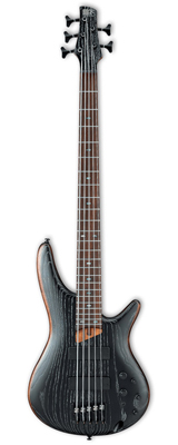 Ibanez(アイバニーズ) / SR675 SKF (Silver Wave Black Flat) 5弦エレキベース 大特典セット