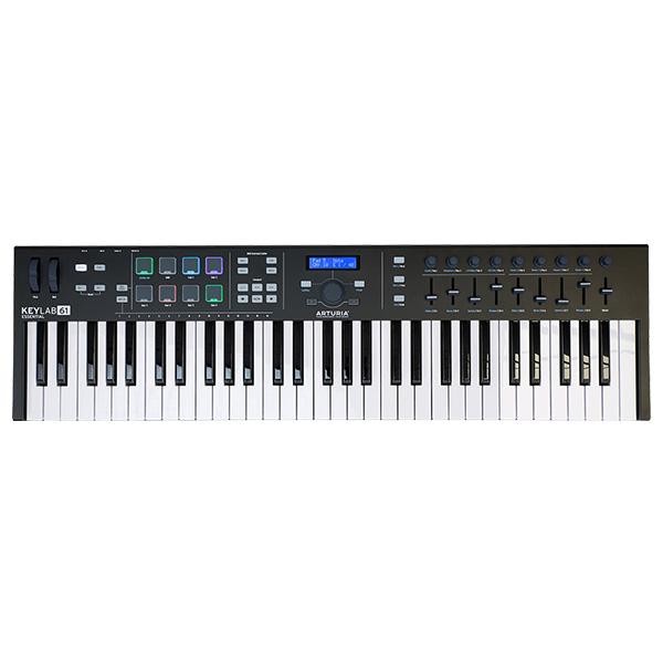 【限定色】Arturia(アートリア) / KeyLab Essential 61 Black Edition - 61鍵MIDIキーボード-【Analog Lab・Ableton Live Lite付属】