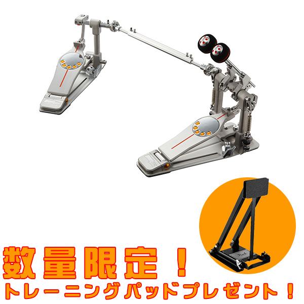【数量限定/トレーニングパッド付き!】Pearl(パール) / P-3002D Eliminator Demon Drive Double Pedal ツインペダル