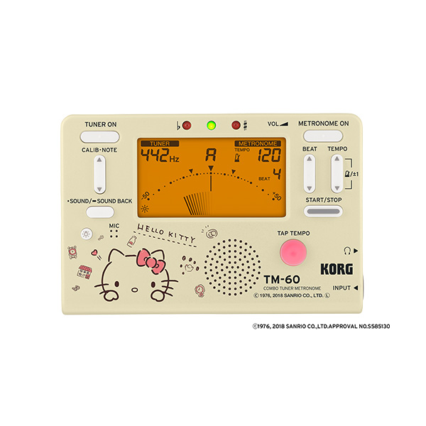 Korg(コルグ) / TM-60-SKT (ハローキティ) [チューナーメトロノーム]【5月26日発売】