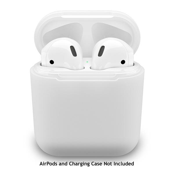 EarBuddyz / PodSkinz (White) AirPodsケース用 シリコンカバー