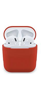 EarBuddyz / PodSkinz (Lava Red) AirPodsケース用 シリコンカバー
