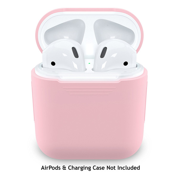 EarBuddyz / PodSkinz (Pretty in Pink) AirPodsケース用 シリコンカバー