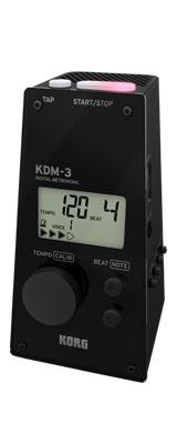Korg(コルグ) / KDM-3 (Black) - デジタル メトロノーム -