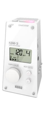 Korg(コルグ) / KDM-3 (White) - デジタル メトロノーム -