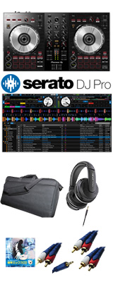 Pioneer(パイオニア) / DDJ-SB3 Serato DJ Pro付き収納ケースセット 6大特典セット