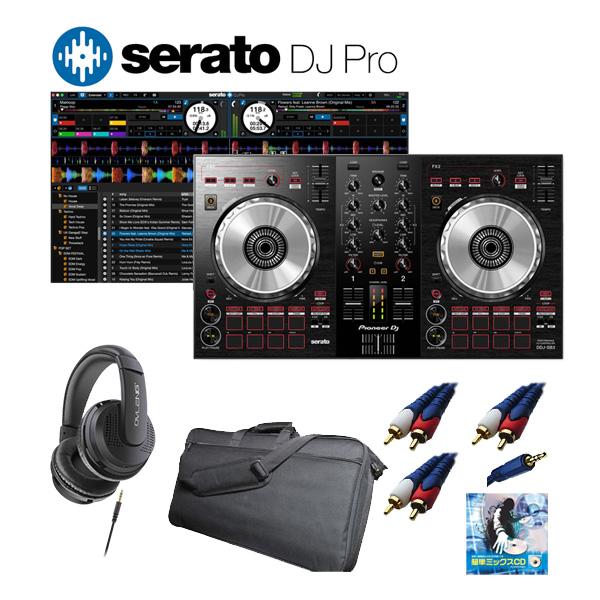 Pioneer(パイオニア) / DDJ-SB3 Serato DJ Pro付き収納ケースセット