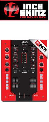 ■ご予約受付■ 12inch SKINZ / DJ-Tech DIF-1M SKINZ (Red/Black) 【DIF-1M用スキン】