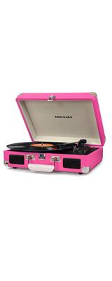 Crosley(クロスレイ) / CR8005D Cruiser Deluxe (Pink) - Bluetooth対応 ポータブルターンテーブル -