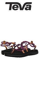 TEVA(テバ) / Women's W Voya Infinity Flip-Flop (Boysenberry) - レディース 女性用 シューズ 靴 サンダル - 【※サイズはプルダウンよりお選びください】