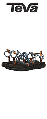 TEVA(テバ) / Women's W Voya Infinity Flip-Flop (Citadel) - レディース 女性用 シューズ 靴 サンダル - 【※サイズはプルダウンよりお選びください】