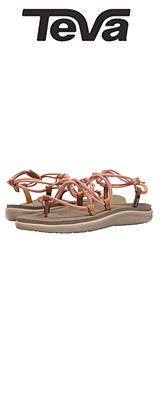 TEVA(テバ) / Women's W Voya Infinity Flip-Flop (Tropical Peach) - レディース 女性用 シューズ 靴 サンダル - 【※サイズはプルダウンよりお選びください】