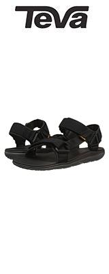 TEVA(テバ) / Men's M Terra Float Universal 2.0 Sandal (Black Solid)  - メンズ 男性用 シューズ 靴 サンダル - 【※サイズはプルダウンよりお選びください】
