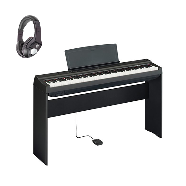【専用スタンドセット】 YAMAHA(ヤマハ) / P-125B ブラック - 電子ピアノ - 【発売日6月1日】