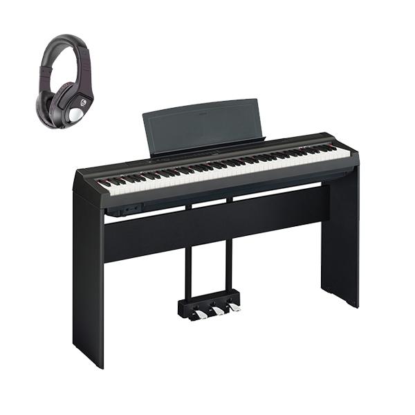 【専用スタンド&ペダルセット】 YAMAHA(ヤマハ) / P-125B ブラック - 電子ピアノ - 【発売日6月1日】