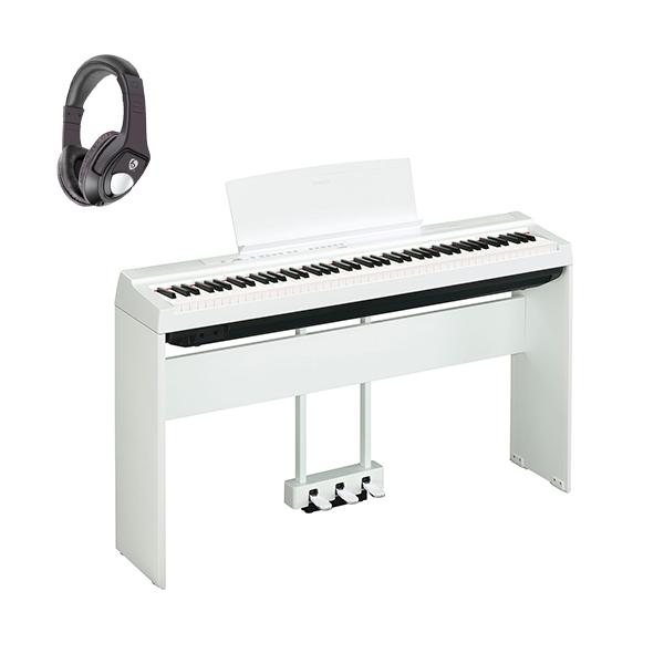 【専用スタンド&ペダルセット】 YAMAHA(ヤマハ) / P-125WH ホワイト - 電子ピアノ - 【発売日6月1日】