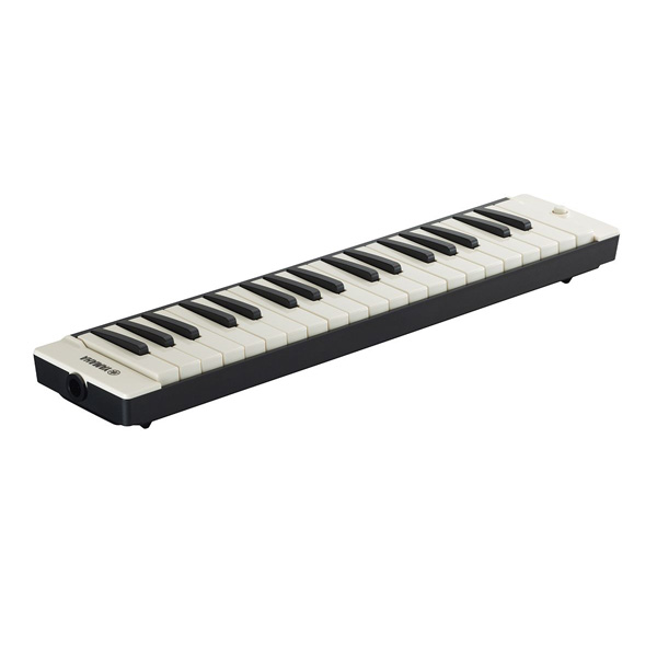 YAMAHA(ヤマハ) / 大人のピアニカ (ブラック / P-37EBK) - 鍵盤ハーモニカ - 【ストラップ付きソフトケース付属】 1大特典セット