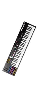 ■ご予約受付■ M-Audio(エム・オーディオ) / Code 61 Black【Ableton Live Lite付属】 -ベロシティ&アフタータッチ対応61鍵盤 USB MIDIキーボードコントローラ -- -