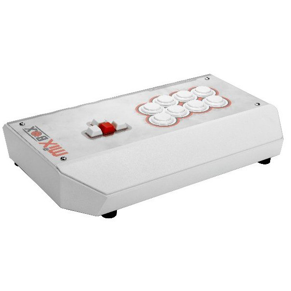 Mixbox Controller (White) PS4 Pro, PS4, PS3対応 アーケードコントローラー アケコン